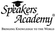 Speakers Academy - Bringing Knowledge to the World (zwart op wit) groter